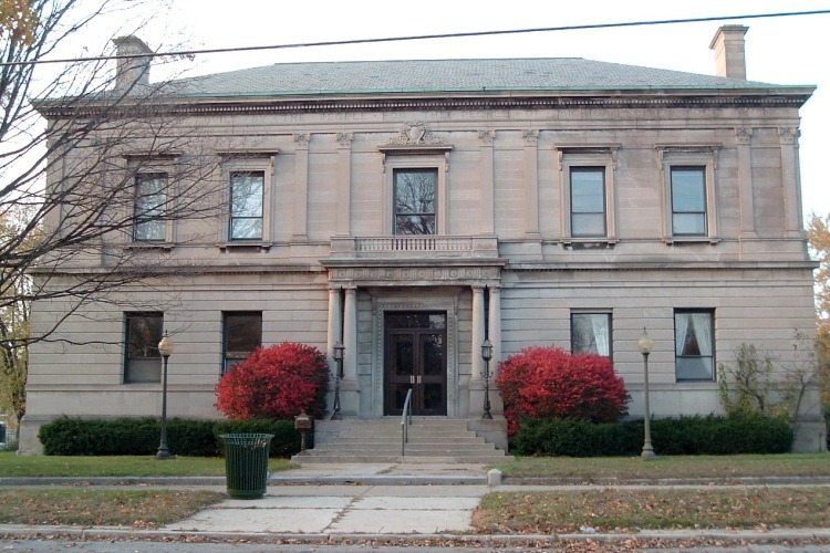 Old library visit michigan city laporte for Laporte library