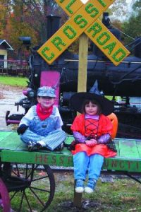 Halloween Kiddie Train @ Hesston Steam Museum