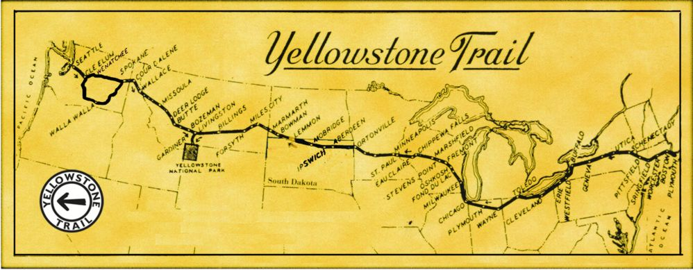 the yellowstone trail