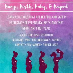 Bump, Birth, Baby, and Beyond @ Earthside Living | La Porte | Indiana | United States