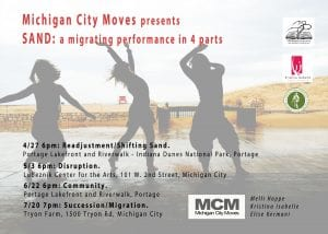 Michigan City Moves performs SAND, Part Two @ Lubeznik Center for the Arts | Michigan City | Indiana | United States