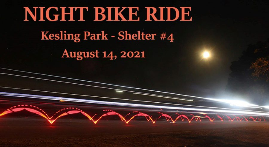Night Bicycle Ride August 13