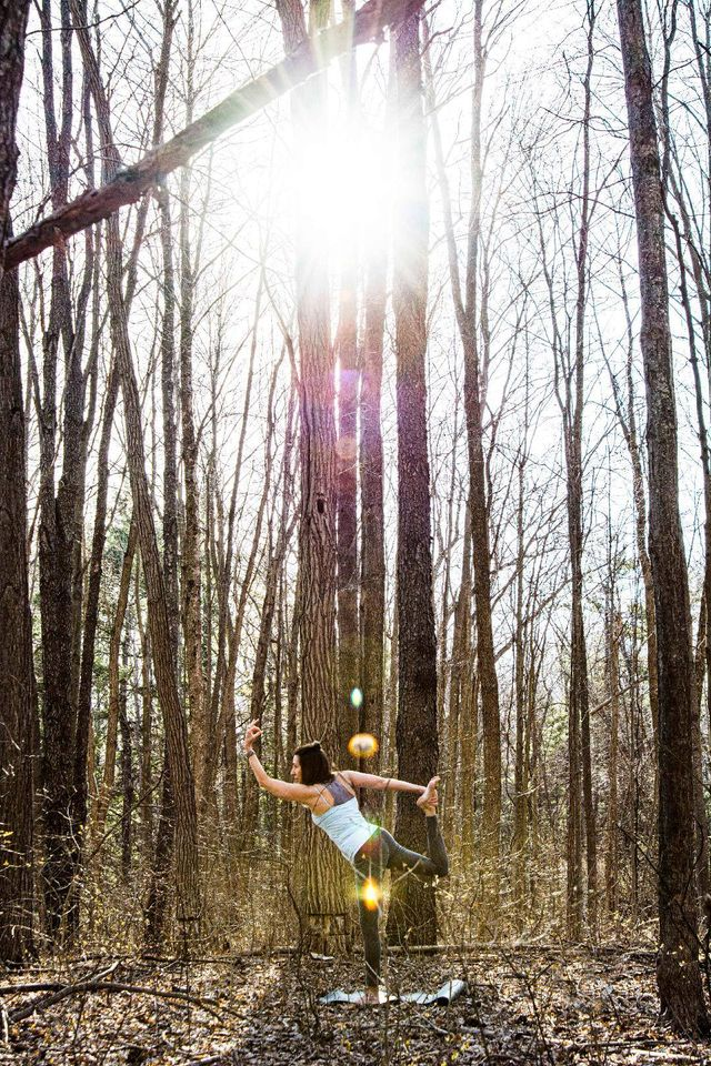 Yoga in the Gardens with April Fallon
